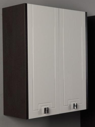 Крит  ВенгеМебель для ванной<br>Акватон 1A163503KT500 Крит двустворчатый шкаф<br>
