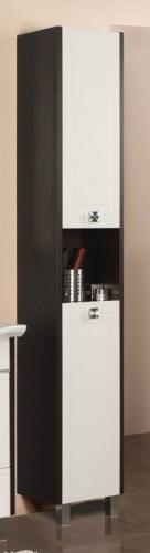 Крит Венге левыйМебель для ванной<br>Акватон 1A152503KT50L Крит шкаф-колонна левый<br>