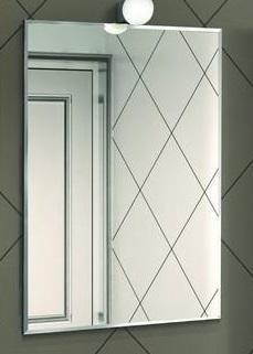 Зеркало Акватон Лиана 60 1A162602LL010 Белое тумба под раковину акватон лиана 60 м 1a162901ll010