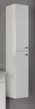Лиана Белый левыйМебель для ванной<br>Акватон 1A163003LL01L Лиана шкаф-клонна левый<br>