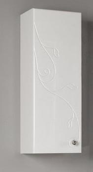 Лиана Белый правыйМебель для ванной<br>Акватон 1A153103LL01R Лиана подвесной одностворчатый шкаф правый<br>