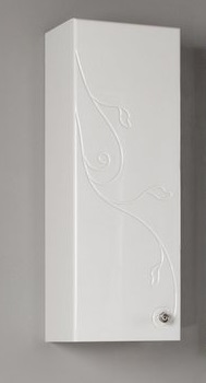 Одностворчатый шкаф Акватон Лиана 1A153103LL01R Белый правый