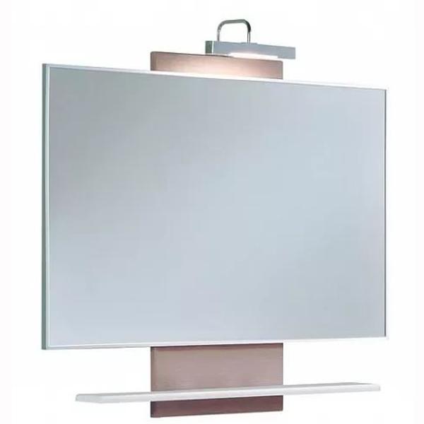 Логика M 95 ВенгеМебель для ванной<br>Акватон 1A108002LOD90 Логика М95 разборное зеркало.<br>