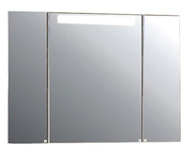 Мадрид 100 БелыйМебель для ванной<br>Акватон 1A111602MA010Мадрид 100 подвесной зеркальный шкаф<br>