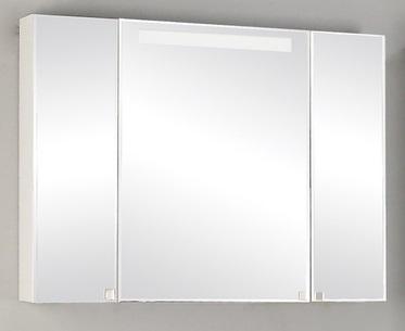 Мадрид 120 БелыйМебель для ванной<br>Акватон 1A113402MA010 Мадрид 120 зеркальный шкаф<br>