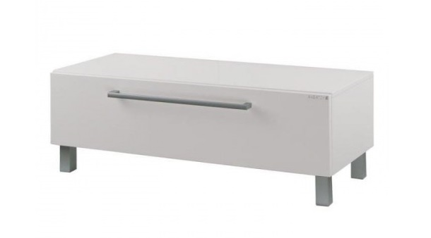 Мадрид 120 Черный глянецМебель для ванной<br>Акватон 1A168803MA950 Мадрид 120 комод<br>