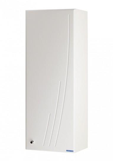 Минима  Белый левыйМебель для ванной<br>Акватон 1A001803MN01L Минима одностворчатый шкаф левый<br>