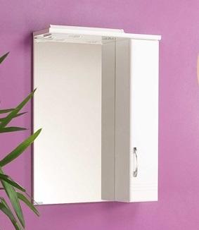 Онда  Белое левоеМебель для ванной<br>Акватон 1A009802ON01L Онда зеркало-шкаф левый<br>