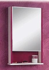 Роко  Белое левоеМебель для ванной<br>Акватон 1A107002RO01L Роко зеркало левое<br>