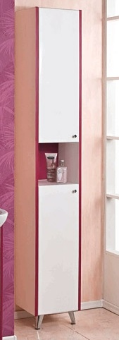Роко  БелыйМебель для ванной<br>Акватон 1A106903RO01L Роко шкаф-колонна<br>