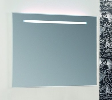 Сайгон 110 БелоеМебель для ванной<br>Акватон 1A107902SA010 Сайгон 110 зеркало<br>