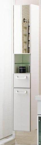 Сайгон  Белый правыйМебель для ванной<br>Акватон 1A106303SA01R Сайгон шкаф-колонна правый<br>