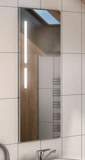 Эклипс  БелоеМебель для ванной<br>Акватон 1A129002EK010 Эклипс зеркало<br>
