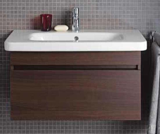 Durastyle DS638105353 Тёмный каштанМебель для ванной<br>Тумба под раковину Duravit Durastyle DS638105353, 730 x 448 x 398 мм.<br>