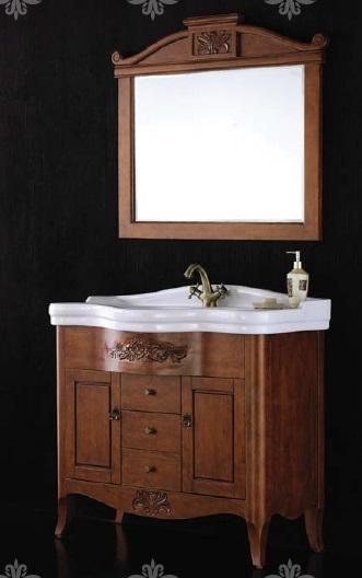 Abile BB05ABIC Вишневый (Ciliegio)Мебель для ванной<br>Тумба под раковину BelBagno Abile BB05ABIC/FA c тремя выдвижными ящиками и двумя распашными дверцами. Дополнительно Вы можете приобрести: керамическую раковину BB101L и зеркало BB45S.<br>