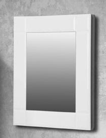 Деко БелоеМебель для ванной<br>Зеркало Edelform Деко. Размер: 685х80х800 мм.<br>