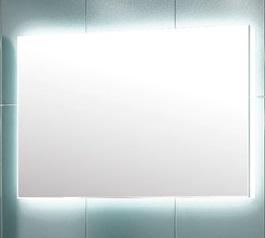 Некст 75 БелоеМебель для ванной<br>Зеркало Edelform Некст 75. Размер: 750х25х950 мм.<br>