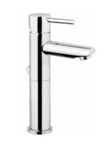 Basix 21504 Хром C00Смесители<br>Удлиненный однорычажный смеситель для ванной комнаты Oioli Basix 21504.<br>