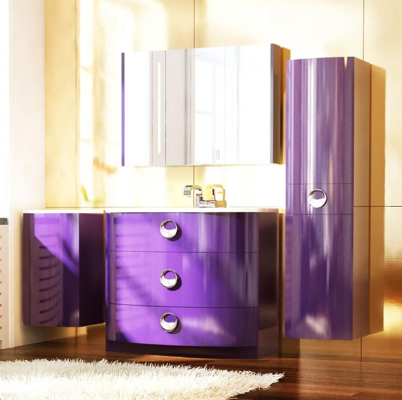 Венеция 80 напольная БелаяМебель для ванной<br>Тумба под раковину Astra Form Венеция 80 напольная. Цвет исполнения - белый глянцевый. В комплект включена только тумба, все остальное необходимо приобрести отдельно.<br>