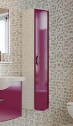 Forza 300-59/60 корпус белый, фасад mob 102 левыйМебель для ванной<br>Подвесной шкаф-пенал Valente Forza 300-59/60. Размер:300х300х1500 мм<br>