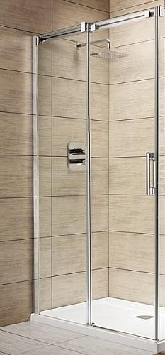 Espera KDJ 1000х900 1/2 с прозрачным стеклом левоеДушевые ограждения<br>Одностворчатые двери Radaway KDJ 1000х900 1/2 арт.380130-01L. Толщина стекла 8 мм, профиль хромированный. Размер: 1000х2000 мм.<br>