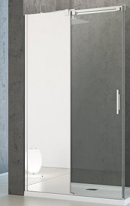 Espera KDJ 1400х1000 1/2 зеркальное левоеДушевые ограждения<br>Одностворчатые двери Radaway KDJ 1400х1000 1/2 арт.380134-71L. Толщина стекла 8 мм, профиль хромированный. Цена указана за душевое ограждение без поддона, поддоны заказываются отдельно. Размер: 1400х2000 мм.<br>