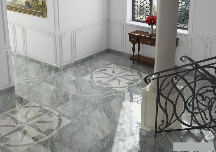 Керамогранит Arcana Ceramica Marble Apuano - R 59.3x59.3 керамогранит