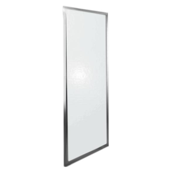 Espera KDJ 80x200 профиль хром, стекло прозрачное, леваяДушевые ограждения<br>Боковая стенка для душевого уголка Radaway Espera KDJ 80 380148-01L .  <br>Закаленное безопасное стекло обладает противоударными свойствами.<br><br>Толщина - 8 мм<br>Стандарт безопасности PN:EN 12150:1<br> Easy Clean<br><br>Покрытие Easy Clean лишает стекло непосредственного контакта с водой и поэтому на его поверхности капли не оставляют следы, оседает меньше загрязнений, а уже осевшие легче очищаются, что экономит время и моющие средства при уборке. Этот невидимый полимерный защитный слой не подвержен коррозии и многократно уменьшает развитие бактерий.  <br>