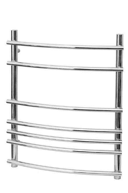 Марио 500х1130 20 перекладинПолотенцесушители<br>Полотенцесушитель Terminus Марио 32/20 П20  – это итальянский стиль и классическое качество марки Терминус. Новые технологии обработки металла придают перекладинам разнообразные изгибы. Дизайн модели напоминает лесенку, при этом перекладины полностью вынесены за пределы опор,  ступени имеют дугообразную форму.  Обтекаемый силуэт полотенцесушителя выглядит неординарно и дорого. Размер: 500х1130 мм.<br>