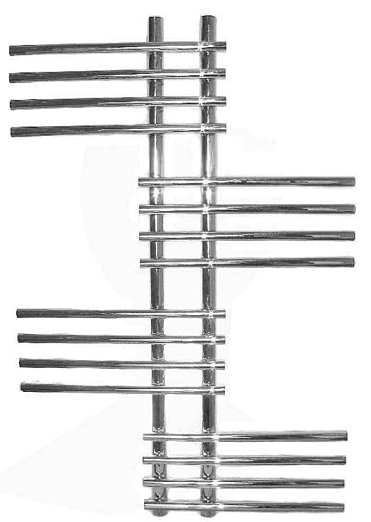 Европа 640х1275 25 перекладинПолотенцесушители<br>Полотенцесушитель Terminus Европа 32/20 П25   5-5-5-5-5 - это современный  дизайн и высокое качество. Данная модель имеет классическое расположение перемычек, он удобный и практичный в эксплуатации. Предназначен для сушки текстильных изделий и обогрева ванных комнат. Размер: 640х1275 мм.<br>