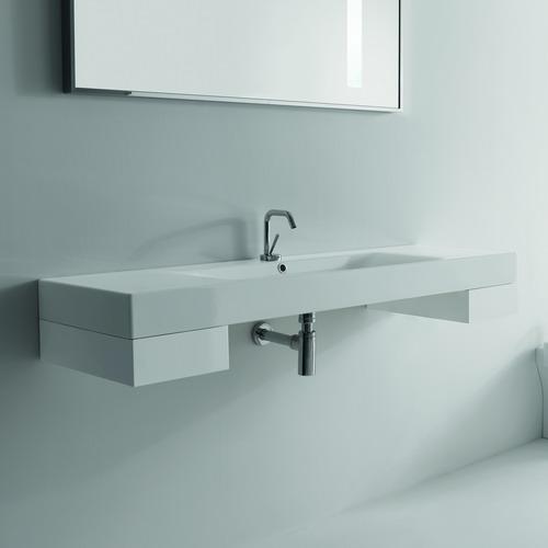 Cento 9129  Ящик белыйМебель для ванной<br>Выдвижной ящик белый лакированный Kerasan Cento 9129 для артикулов 3534,3535,3536 и 3550.<br>
