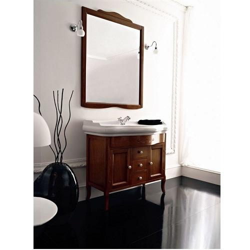 Retro 7347 ОрехМебель для ванной<br>Тумба под раковину закрытая Kerasan Retro 7347. Цвет орех.<br>