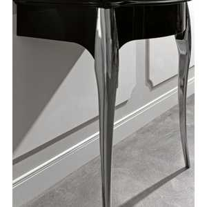 Retro 7362 К3 черная глянцеваяМебель для ванной<br>Чёрная глянцевая мебель для умывальника Kerasan Retro 7362К3  в комплекте с ногами из алюминия. Цвет золото.<br>