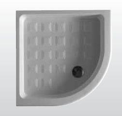 Retro 1342 800 ммДушевые поддоны<br>Душевой поддон Kerasan Retro 1342 с формой четверть круга.  Цвет – белый.<br>