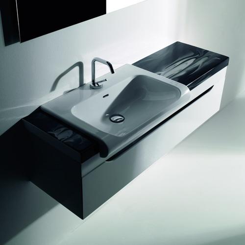 Раковина Kerasan Inka Project 3411 черная глянцевая genuine shanghai yatai xmtd 3000a xmtd 3411 n temperature controller xmtd 3411 n