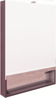 Gap 80 ZRU9302753 ВиноградМебель для ванной<br>Шкаф зеркальный Roca Gap 80 ZRU9302753 c подсветкой. Цвет виноград.<br>