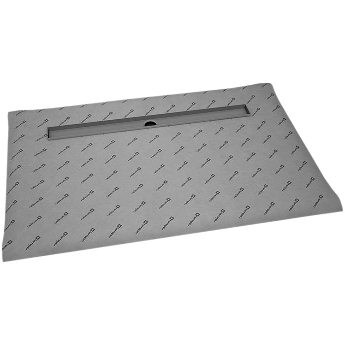 Душевая плита Radaway RadаDrain 79x169 для плитки 5-7 мм с решеткой Quadro фото
