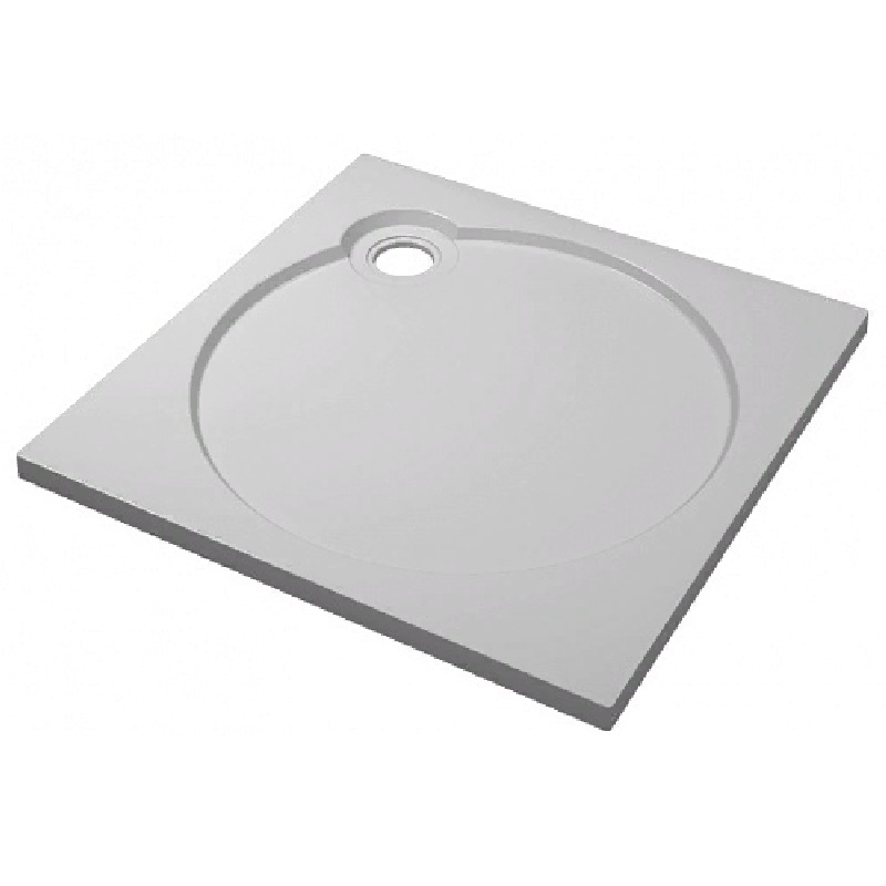 Душевой поддон из искусственного камня Florentina GW-100х100 Белый