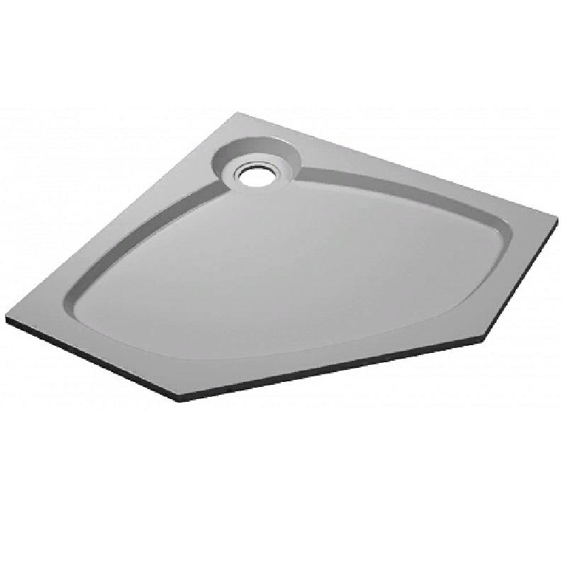 Душевой поддон из искусственного камня Florentina П-1 100х100P Белый цены