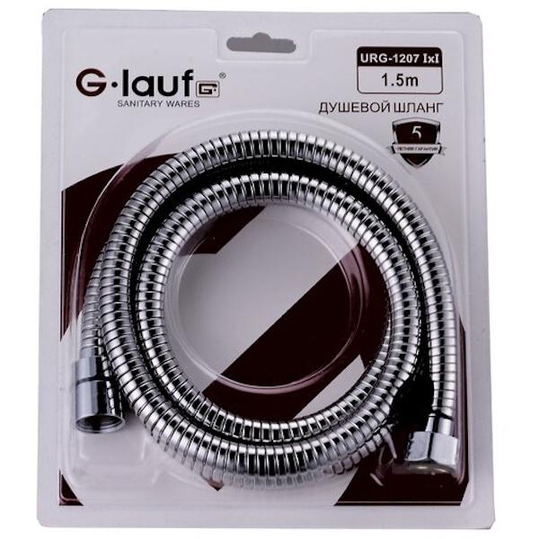 Душевой шланг G-Lauf URG-1207 I*I 1.5M Хром цены онлайн