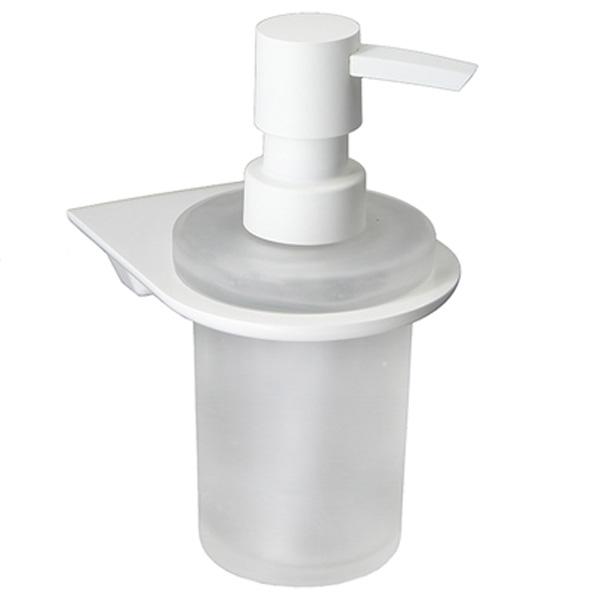Дозатор для жидкого мыла WasserKRAFT Kammel K-8399 Белый дозатор жидкого мыла grohe contemporary встраиваемый в столешницу хром 40536000