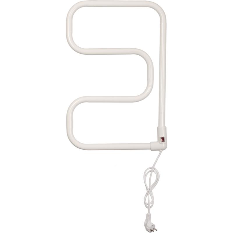 Электрический полотенцесушитель Domoterm E-образный DMT 104-25 40*60 EK R Белый