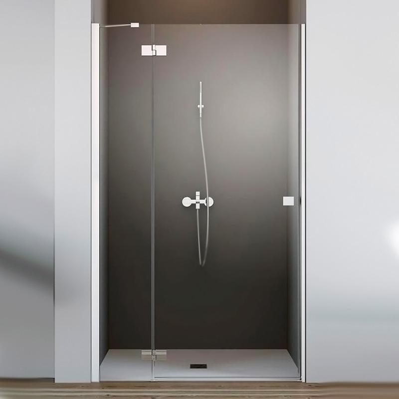 Essenza New DWJ 130 R профиль Черный стекло прозрачное