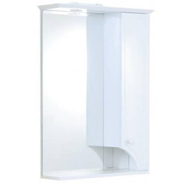 Зеркальный шкаф Акватон Элен 65 с подсветкой 1A219002EN010 Белый