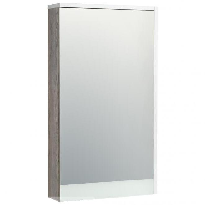 Зеркальный шкаф Акватон Эмма 46 1A221802EAD80 Белый Дуб навара