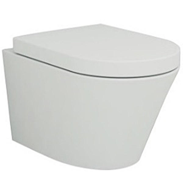 Унитаз Ceramica Nova Trend Rimless 111010 подвесной с сиденьем Микролифт унитаз ceramica nova simple rimless cn1302 подвесной с сиденьем микролифт