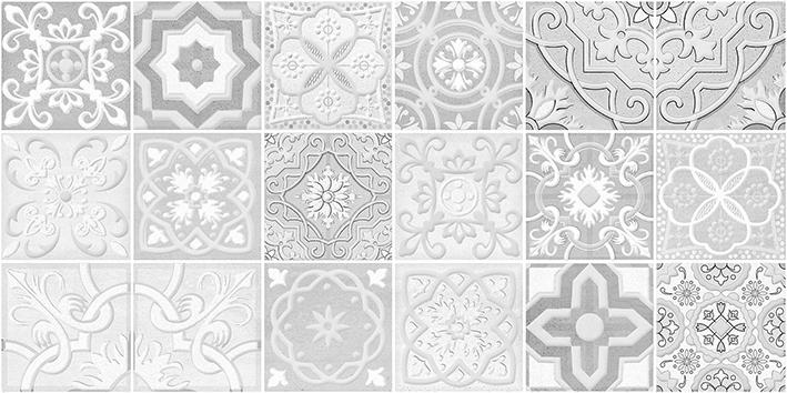 Керамический декор Laparet Concrete Module серый 30х60 см