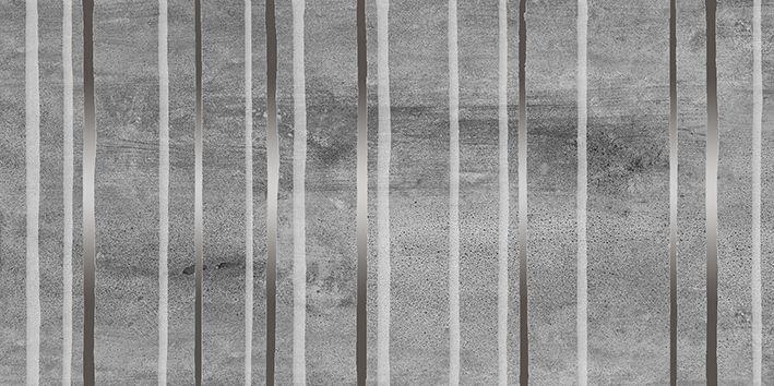 Керамический декор Laparet Concrete Trigger тёмно-серый 30х60 см