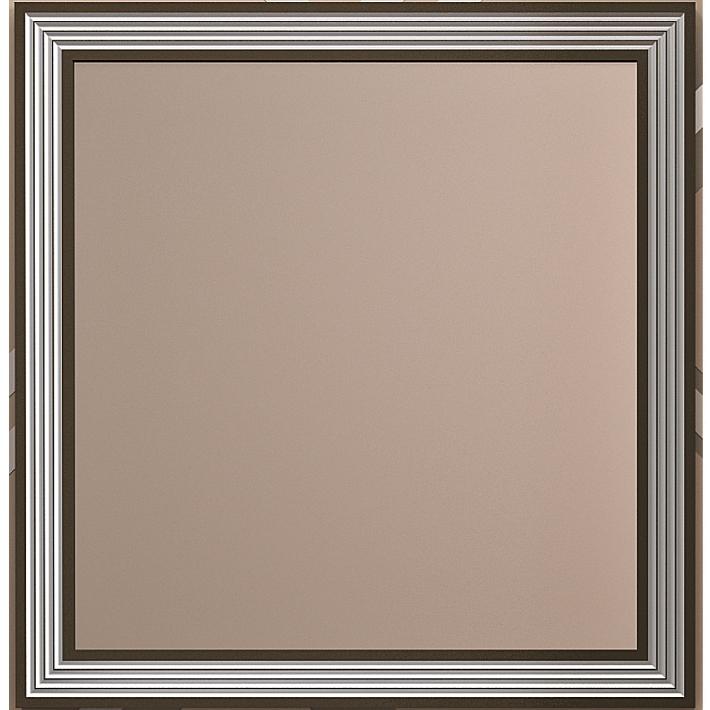 Зеркало Opadiris Карат 80 с подсветкой Белое с серебряной патиной зеркало opadiris оникс 80 с подсветкой с сенсорным выключателем