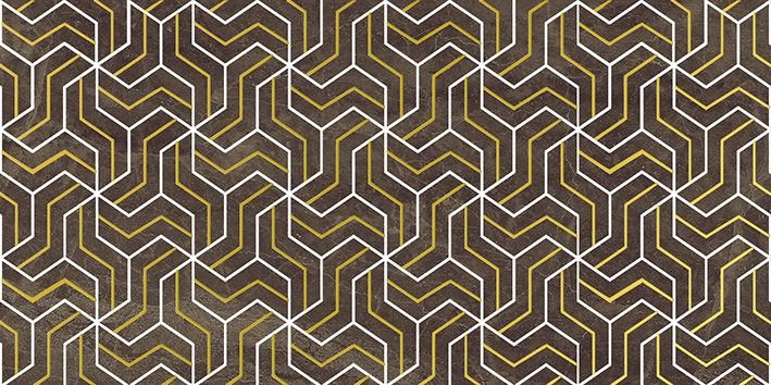Керамический декор Laparet Crystal Fractal коричневый 30х60 см керамический декор laparet genesis fractal бежевый 30х60 см